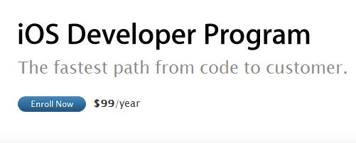 captura pantalla de apple program ios developer